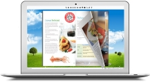 american pizza flippingbook banner